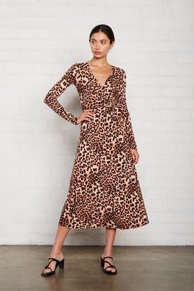 Rachel Pally Mid-Length Harlow Dress - Leopard