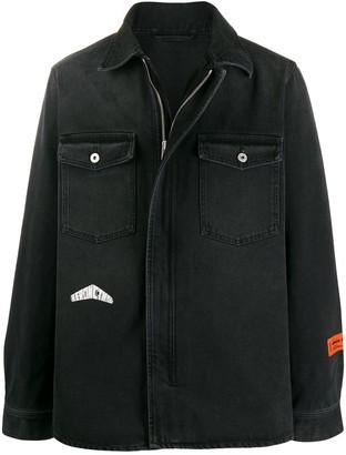 Heron Preston Oversized Denim Jacket
