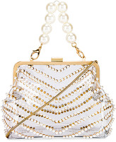 Zac Posen Lacey Pearl Frame Clutch