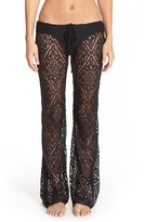 Becca Women's 'Amore' Lace Swim Cover Up Pants