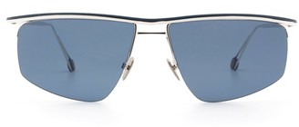 AHLEM Place Des Pyrenees White Gold Sunglasses