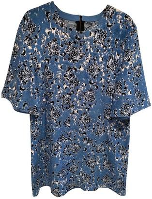 Mulberry Blue Silk Dress for Women