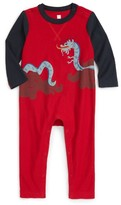 Tea Collection Infant Boy's Fuku Riu Graphic Romper
