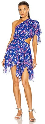 Isabel Marant Noliaze Dress in Blue