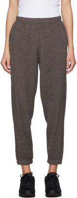 Gil Rodriguez SSENSE Exclusive Brown Terry Beachwood Lounge Pants