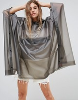 Hunter Clear Pu Pouched Rain Poncho
