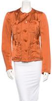 Donna Karan Satin Jacket