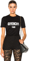 Givenchy Fitted Destroyed Logo Tee