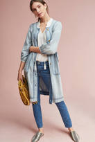 Burning Torch Pier Chambray Dress