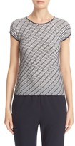 Armani Collezioni Women's Wave Knit Top