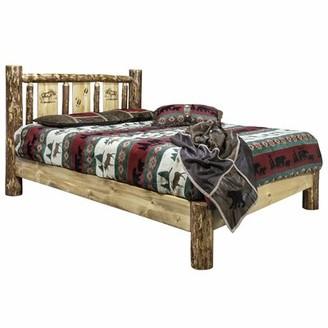 Shelley Loon Peak Moose Platform Bed Loon Peak Size: Twin