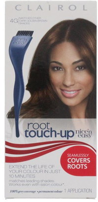 Clairol Nice'N Easy Root Touch Up Permanent Hair Colour Dark Golden Brown