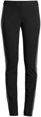 Derek Lam Hanne Slim-Fit Tuxedo Stripe Leggings