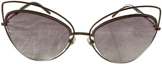 Marc Jacobs Gold Metal Sunglasses