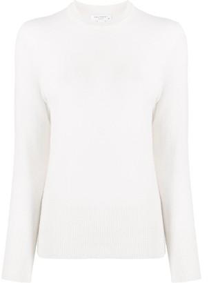 Equipment cashmere long-sleeve jumper