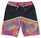 O'Neill Big Boys 8-20 Hyperfreak Stretch Moire Color Block Board Shorts