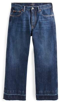 Ralph Lauren Wide-Leg Crop Jean