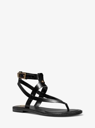 MICHAEL Michael Kors Pearson Leather Sandal