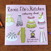 Flos Rosie Flo's colouring books Rosie Flo's Kitchen Colouring Book
