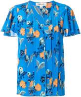 Dvf Diane Von Furstenberg floral print shirt