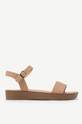 Ardene Ankle Strap Platform Sandals