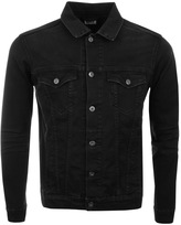 Edwin High Road Denim Jacket in Black