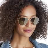 Sole Society Vernon Mirrored Aviator Sunglasses