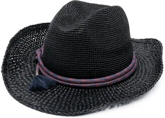 Jacob Cohen Woven Fedora Hat