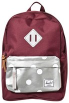 Herschel Heritage Kids Burgundy Reflective Backpack
