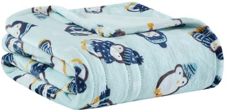 Simmons Oversized Plush Printed Heated Throw