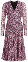 Giambattista Valli Floral Silk Dress
