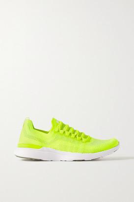 APL Athletic Propulsion Labs Techloom Breeze Mesh Sneakers - Yellow