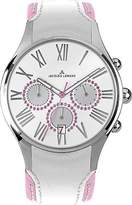 Jacques Lemans Women's 1-1606G Capri Analog Chronograph Watch