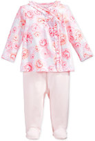 First Impressions Baby Girls' 2-Pc. Rose-Print Top & Footed Leggings Set, Only at Macy's