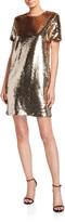 Emporio Armani Sequin Tunic T-Shirt Mini Dress