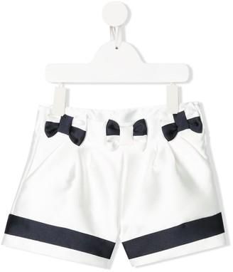 Patachou Tailored Bow Shorts