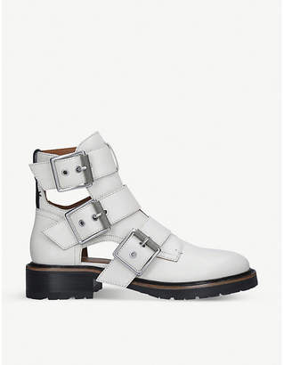 Rag & Bone Cannon II buckled leather ankle boots