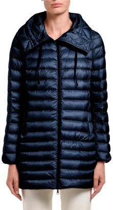 Moncler Rubis Hooded Puffer Jacket