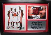 Miami Heat The Big Three Photo Stat Frame