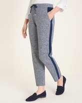 Zenergy Cotton-Cashmere Blend Marled Ankle Pants