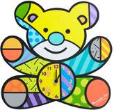 Gund Britto - Bear Wall Clock