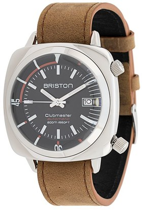Briston Watches Clubmaster Diver stainless steel watch