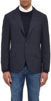 Brunello Cucinelli Men's Three-Button Sportcoat-NAVY