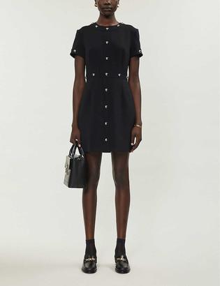 Claudie Pierlot Roanne woven mini dress