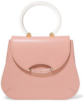 Charlotte Olympia Newman Textured-Leather Tote