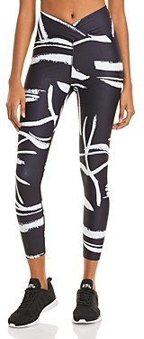 YEAR OF OURS Veronica Abstract Print Leggings
