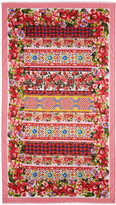 Dolce & Gabbana Pink Maiolica Scarf
