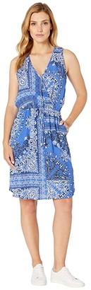 Karen Kane Bandana Dress (Print) Women's Clothing