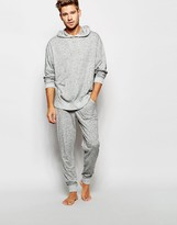 Asos Loungewear Joggers In Lightweight Slub Fabric - Grey