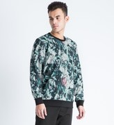 Shades of Grey by Micah Cohen Multicolor Floral Neoprene Crewneck Sweater